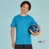 Cadeau d'affaire T-shirt enfant Sporty 140 g/m²