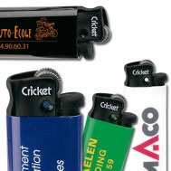 Cadeau d'affaire Briquet Cricket Black