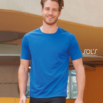 T-shirt Sporty (homme) 140 g/m²